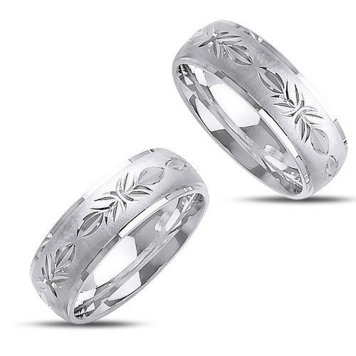 Polish His And Her Wedding Bands 7mm 02351