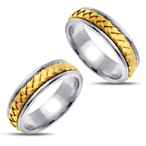 Polish Matching Wedding Rings 7mm 02383