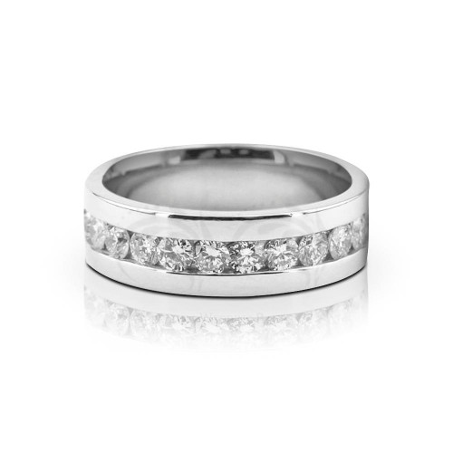 1 Ctw Round Diamond Ring Wedding 7mm 02519