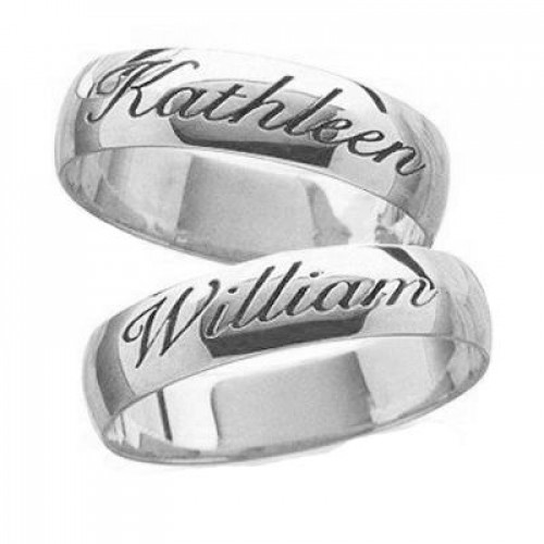 Polish His And Her Wedding Bands 6mm 03599