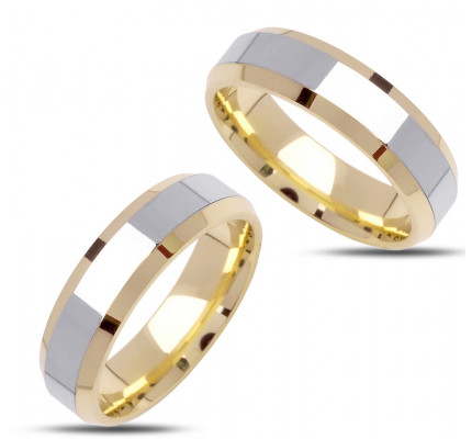 Polish His And Hers Wedding Bands 6mm 02380